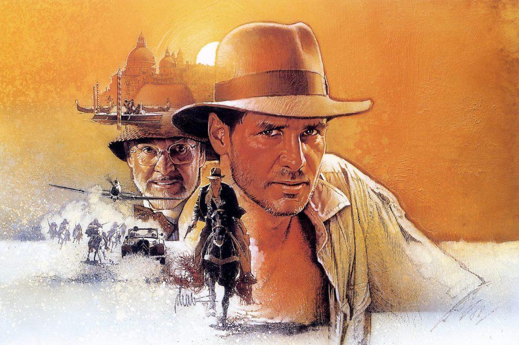 """Immagine di """"Indiana Jones e l'ultima crociata"""" con Harrison Ford e Sean Connery"""